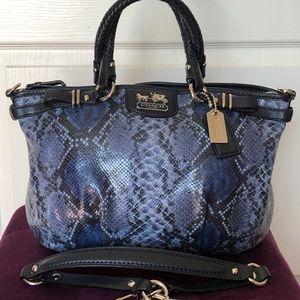 COACH Madison Sophia - Python Leather Embossed
